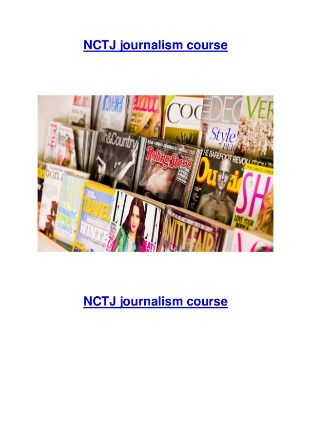 Nctj diploma course 10 newinfo