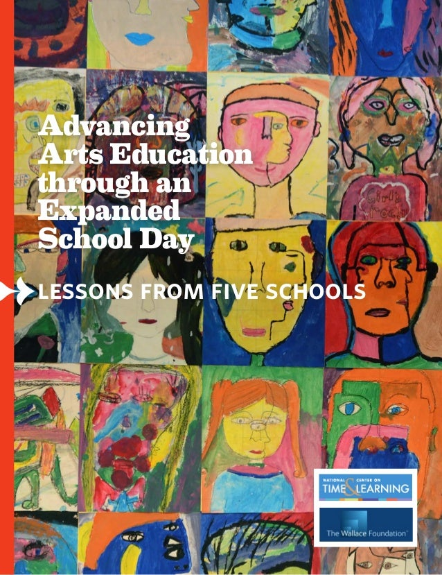 Advancing Arts Education through an Expanded School Day.