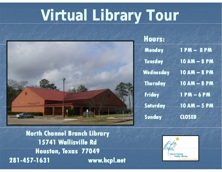 North Channel Branch Library Virtual Tour