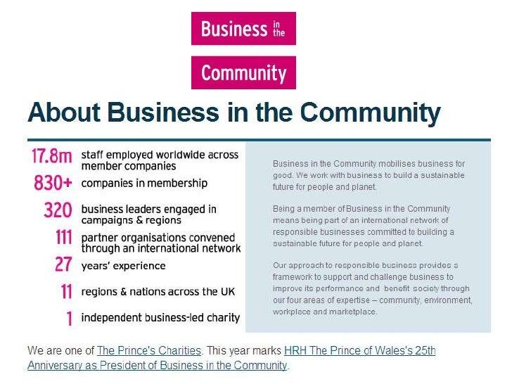 NCVO CCIS June 10 - 3 Jim Hayward Business in the Community