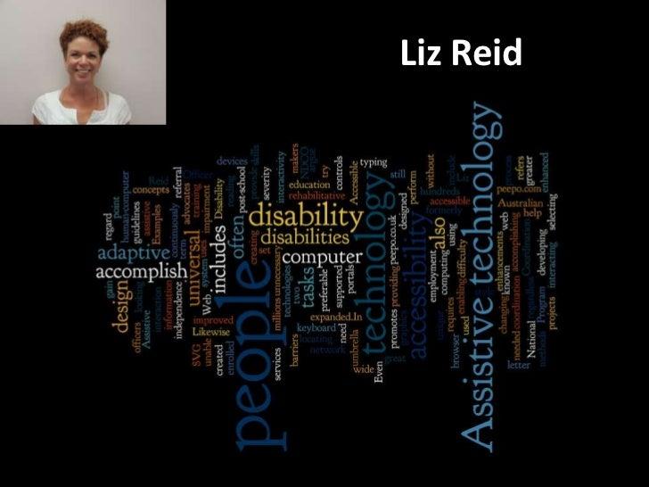 E-Maginarium - NDCO assistive technologies and accessibility - Liz Reid
