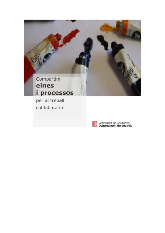 Índice en castellano de Compartim: Herramientas y procedimientos.