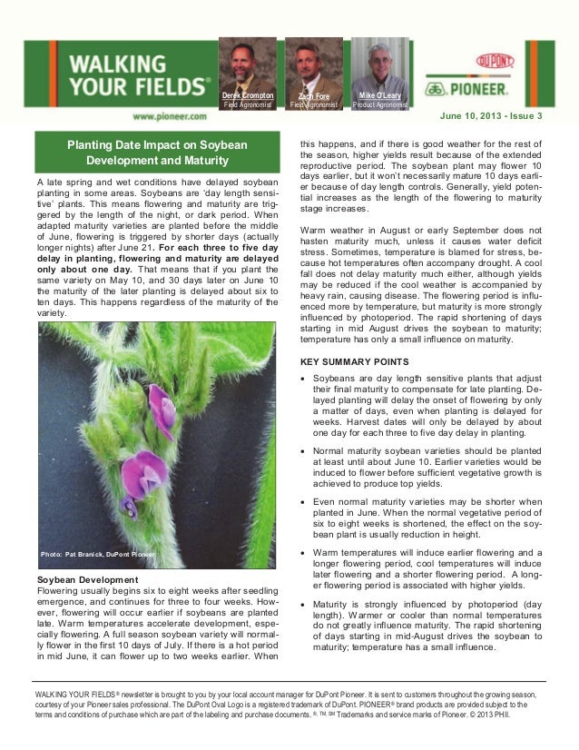 ND & Northern MN Walking Your Fields newsletter-June