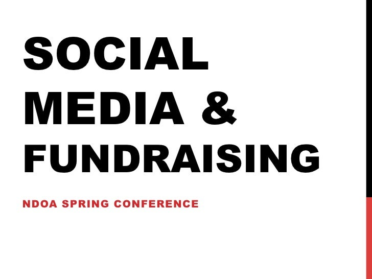 Better Fundraising with Social Media