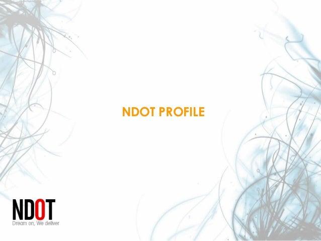 NDOT PROFILE
