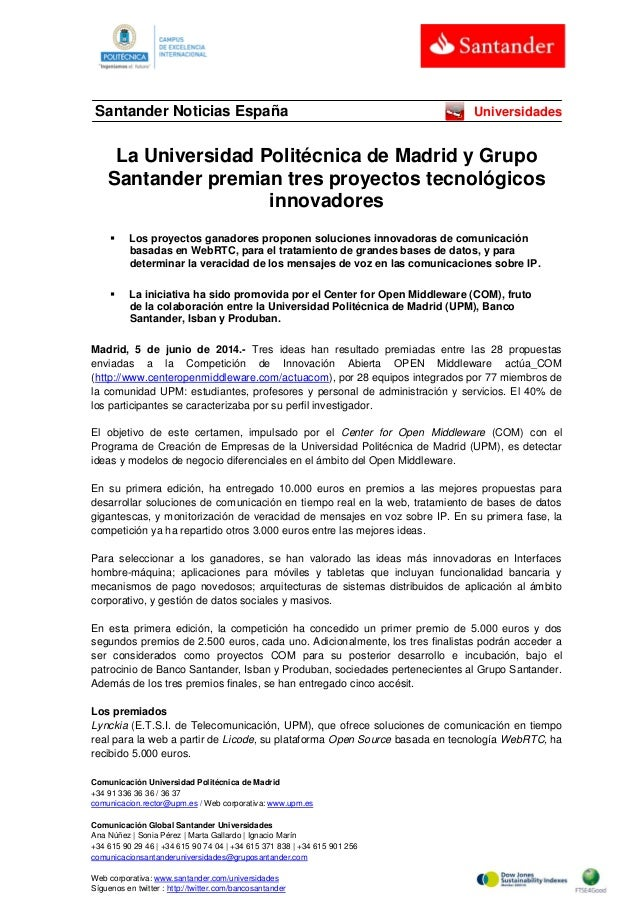 Comunicación Universidad Politécnica de Madrid +34 91 336 36 36 / 36 37 comunicacion.rector@upm.es / Web corporativa: www....