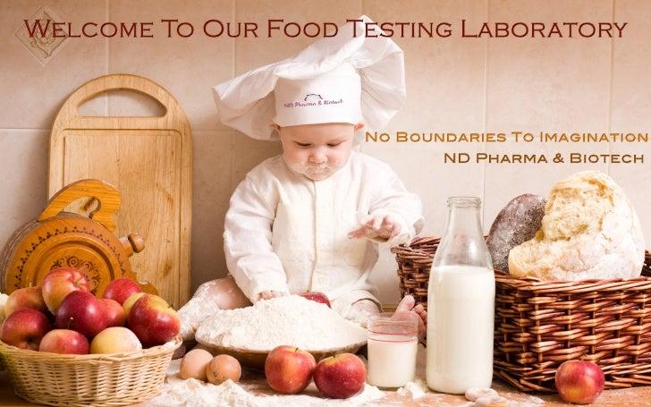 Nd pharma food testing laboratory