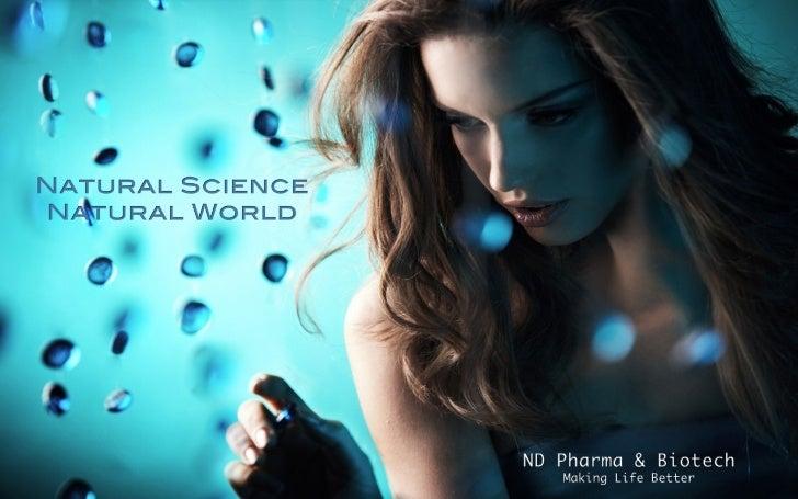 Nd pharma natural science natural world