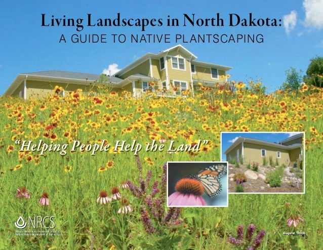 Living Landscapes in North Dakota: A Guide to Native Plantscaping