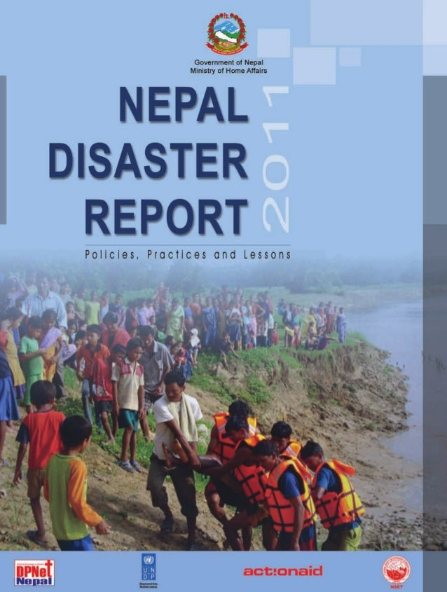 Nepal Disaster Report 2011
