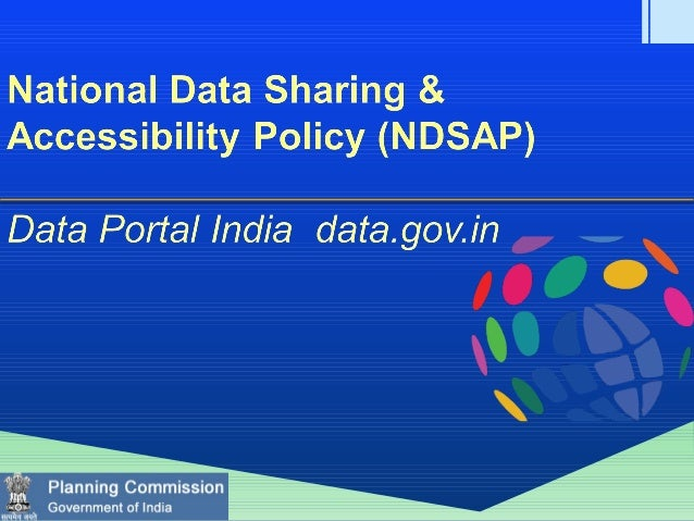 NDSAP Background & Overall Status