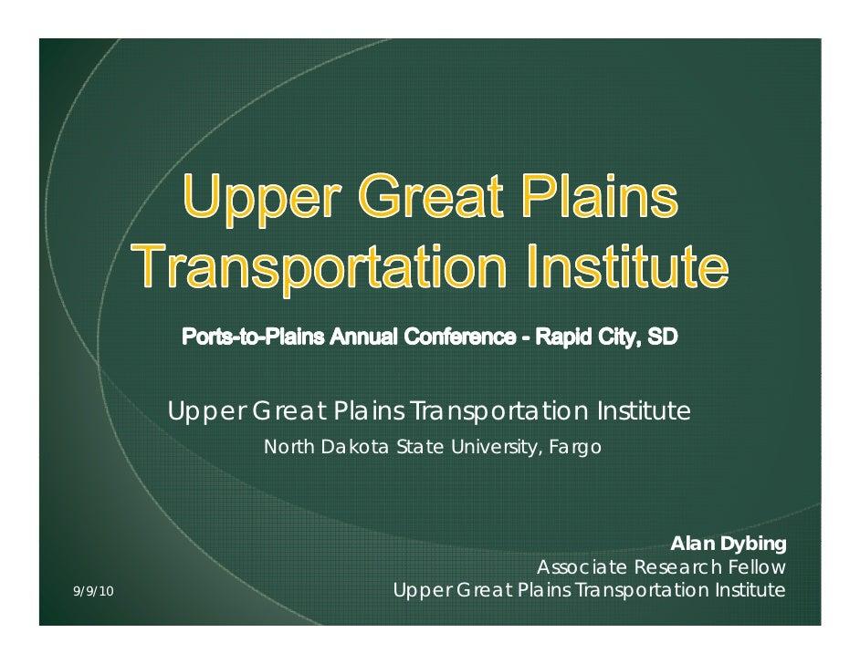 Upper Great Plains Transportation Institute