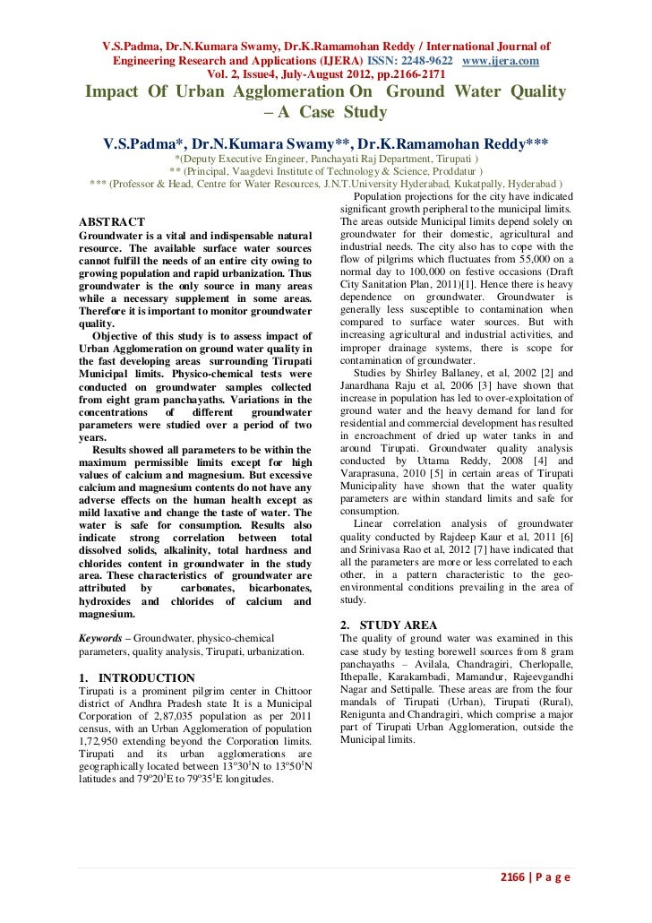 V.S.Padma, Dr.N.Kumara Swamy, Dr.K.Ramamohan Reddy / International Journal of       Engineering Research and Applications ...