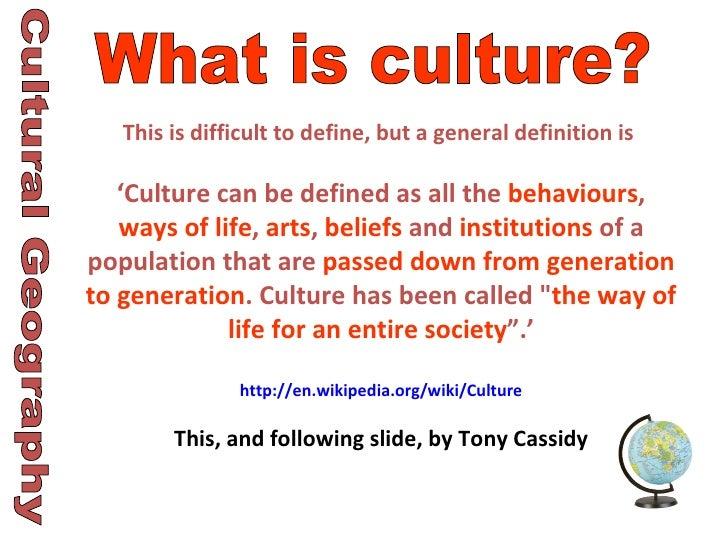 Define cultural domination