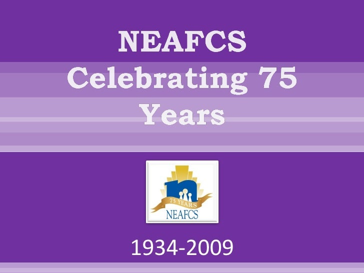Neafcs 75th