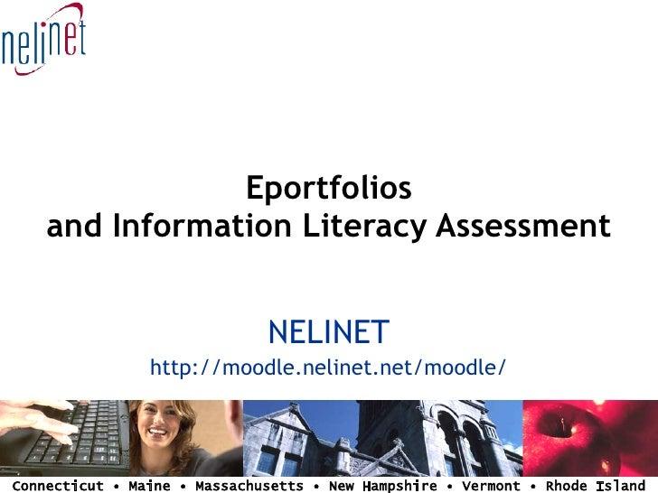 Presentation at NEAISL - ePortfolios and Information Literacy Assessment
