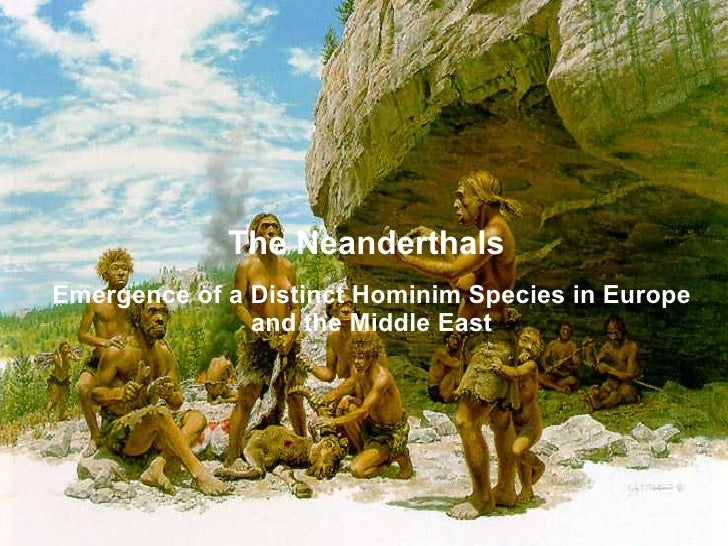 Neanderthals, Lecture 9