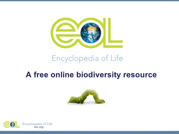 A free online biodiversity resource