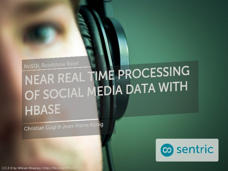 Near Real Time Processing of Social Media Data with HBase