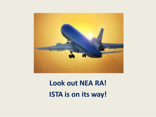 Look out NEA RA!ISTA is on its way!