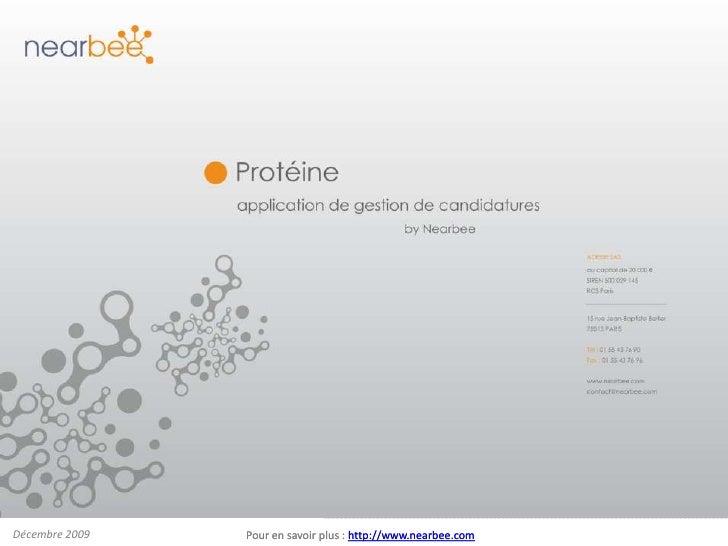 Protéine : le recrutement à la sauce collaborative