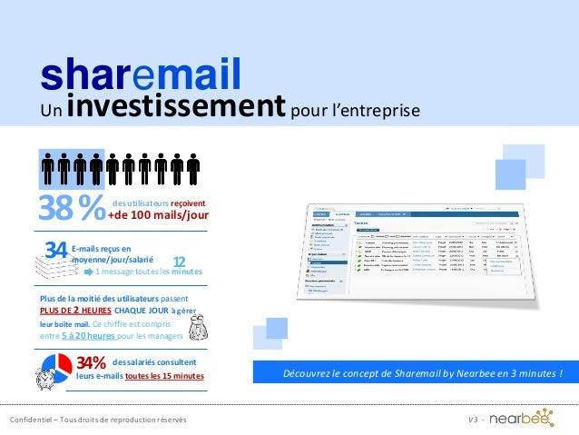 Confidentiel – Tous droits de reproduction réservés Découvrez le concept de Sharemail by Nearbee en 3 minutes ! Un investi...