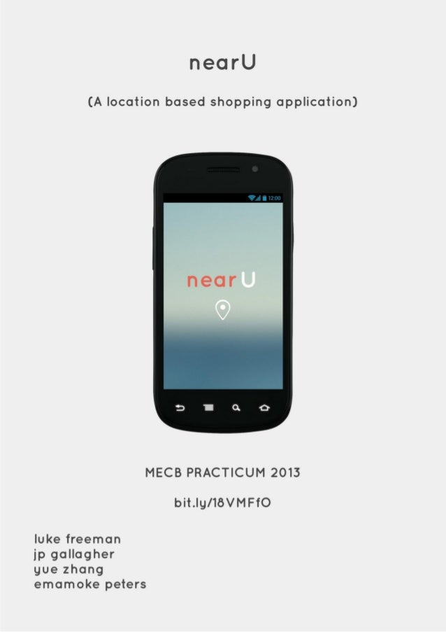 Nearu is an innovative location based application
