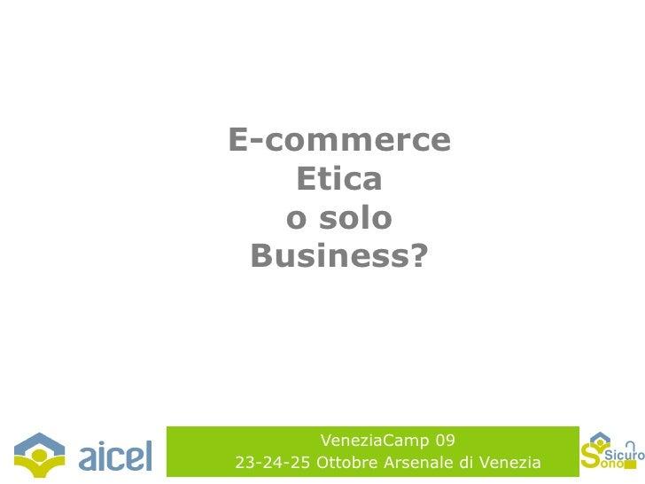 Veneziacamp09  - seminario Aicel - presentazione NEATO