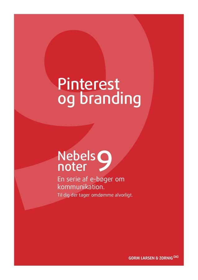Sådan bruger du Pinterest til branding