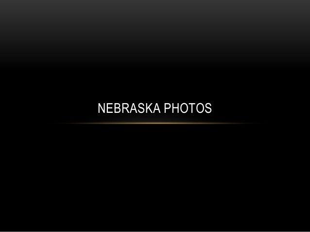 Nebraska photos