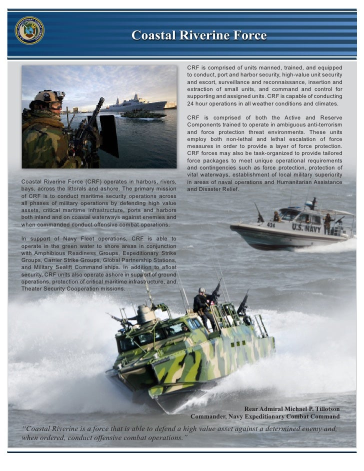 CRF is comprised of units manned, trained, and equipped                                                                  t...