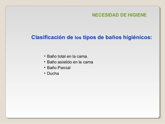 Baño General Del Paciente En Cama:necesidad de higiene baño total en la cama baño asistido