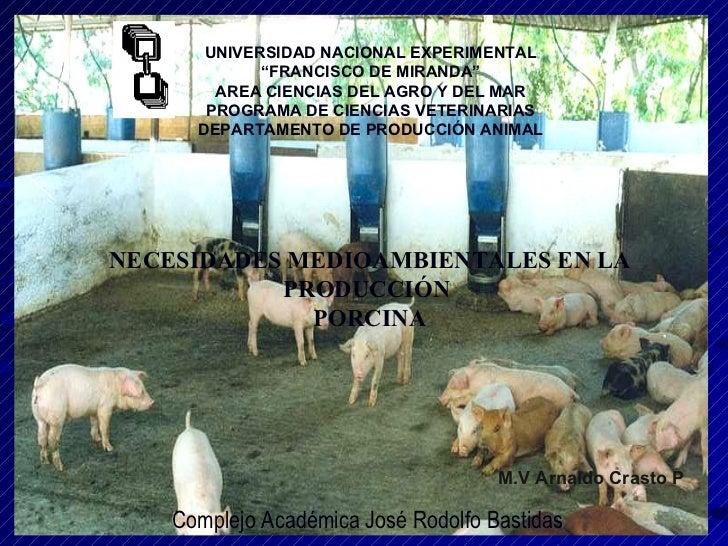 """UNIVERSIDAD NACIONAL EXPERIMENTAL """" FRANCISCO DE MIRANDA"""" AREA CIENCIAS DEL AGRO Y DEL MAR PROGRAMA DE CIENCIAS VETERINARI..."""