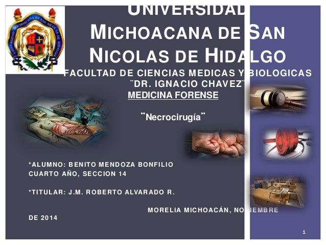 *ALUMNO: BENITO MENDOZA BONFILIO CUARTO AÑO, SECCION 14 *TITULAR: J.M. ROBERTO ALVARADO R. MORELIA MICHOACÁN, NOVIEMBRE DE...