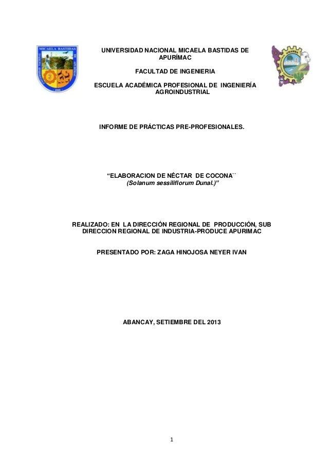 UNIVERSIDAD NACIONAL MICAELA BASTIDAS DE APURÍMAC FACULTAD DE INGENIERIA ESCUELA ACADÉMICA PROFESIONAL DE INGENIERÍA AGROI...