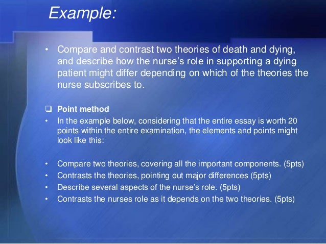 compare and contrast of two dramas essay The easiest definition of compare and contrast essay that explore both the similarities and differences between two subjects by comparing or contrasting them it's very easy to mistake this style of essay writing for a simple comparison between some topics or subjects, but that's not entirely correct.