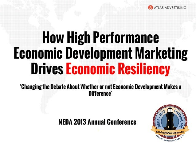 NEDA Conference 2013 Branding for Resilient Communities
