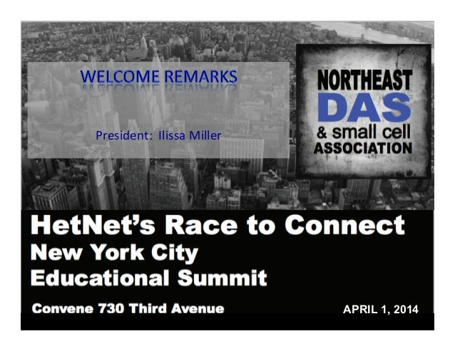 HetNet's Race to Connect - NEDAS April 1, 2014 In-Building Wireless Summit