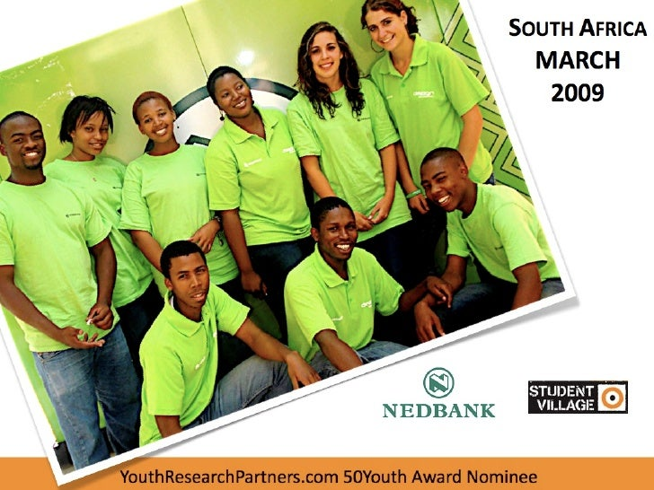 SOUTH AFRICA    YouthResearchPartners.com 50Youth Award Nominee