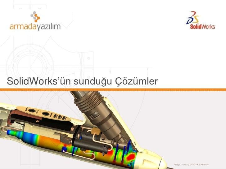 SolidWorks'ün sunduğu Çözümler<br />