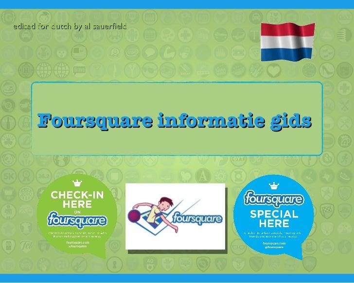 IOTO 3: Foursquare, 8 november 2011