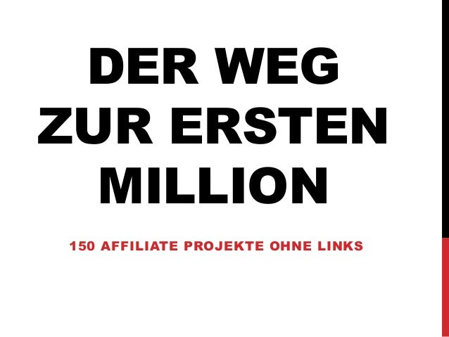 Der Weg zur ersten Million (SEO Campixx 2014)