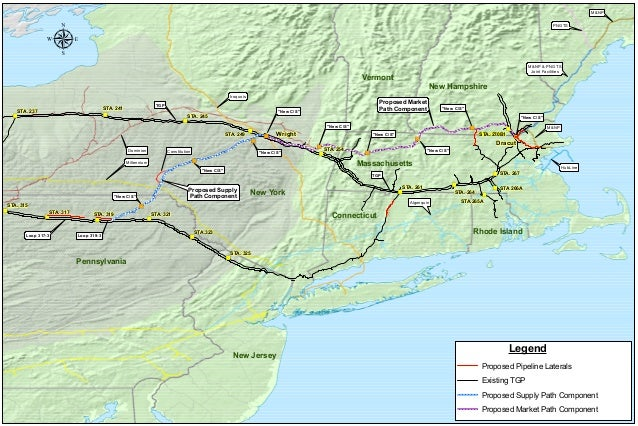 Kinder Morgan S Tennessee Gas Pipeline Northeast Energy