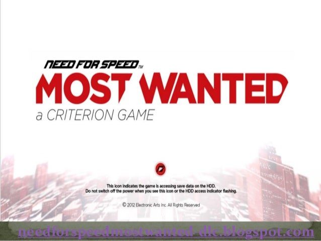 Need For Speed Most Wanted Crack Multiplayer