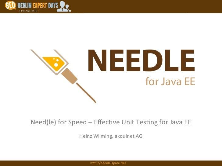 Logo auf dunklen Hintergrund (z.B. Website)                                             NEEDLE                            ...