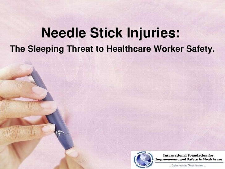 Needle Stick Injury Presentation