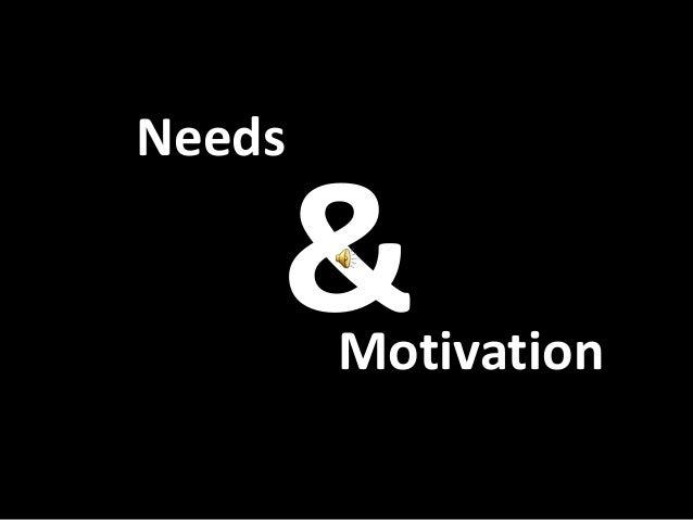 &NeedsMotivation