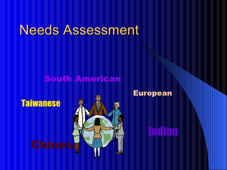 Needs Assessment for Career Development