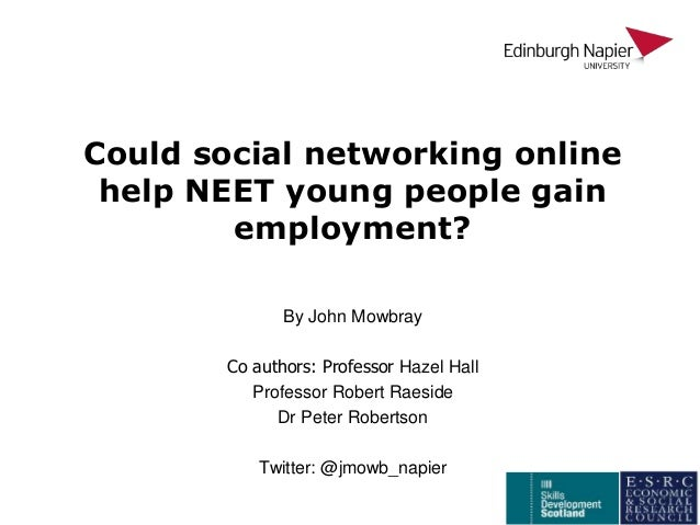 social networking hindering employment In the first decade of the 21 st century, new media technologies for social networking such as facebook, myspace, twitter and youtube began to transform the social, political and informational practices of individuals and institutions across the globe, inviting a philosophical response from the community of applied ethicists and philosophers of technology.