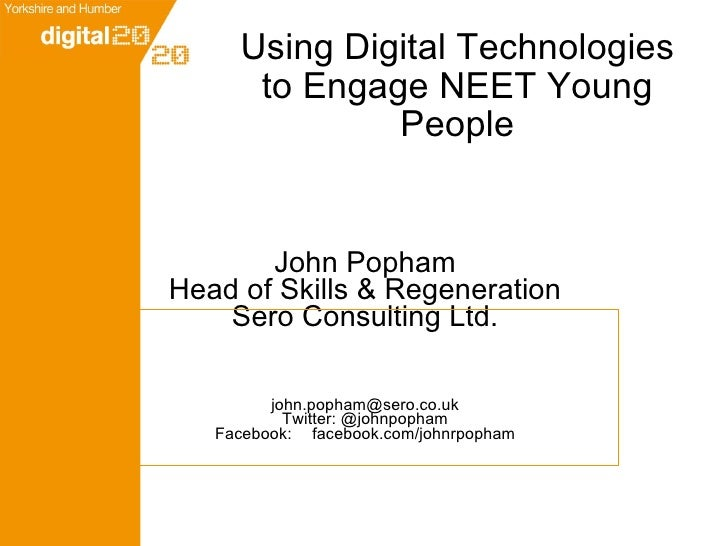 Engaging NEET Young People Through Technology